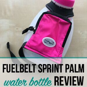 FuelBelt Sprint Palm Water Holder Review