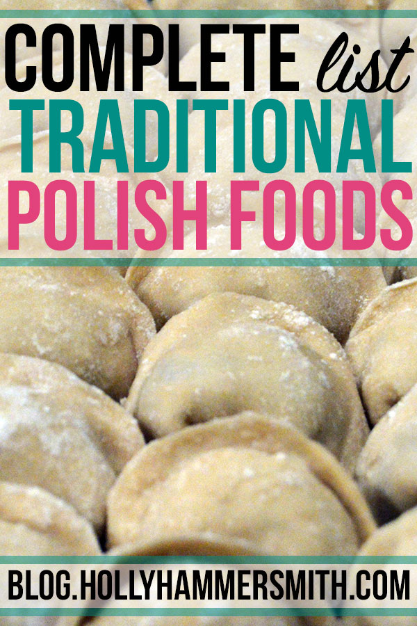 Traditional Polish Foods