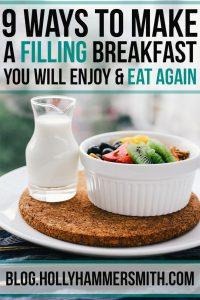 Filling Breakfast