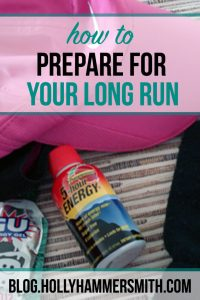 How to Prepare for a Long Run