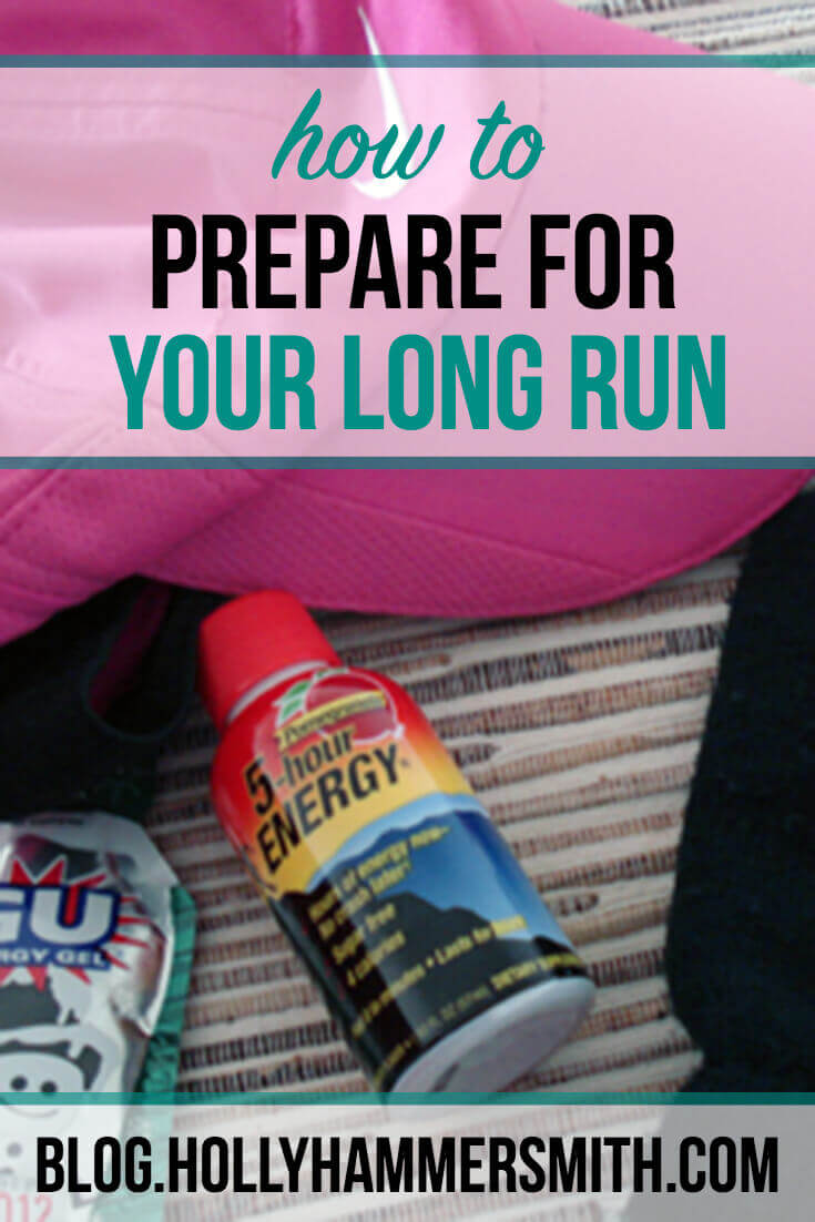 Prepare for a Long Run