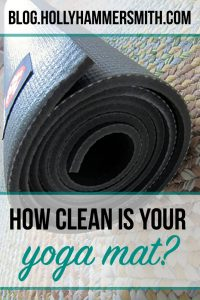How Clean Is Your Yoga Mat?