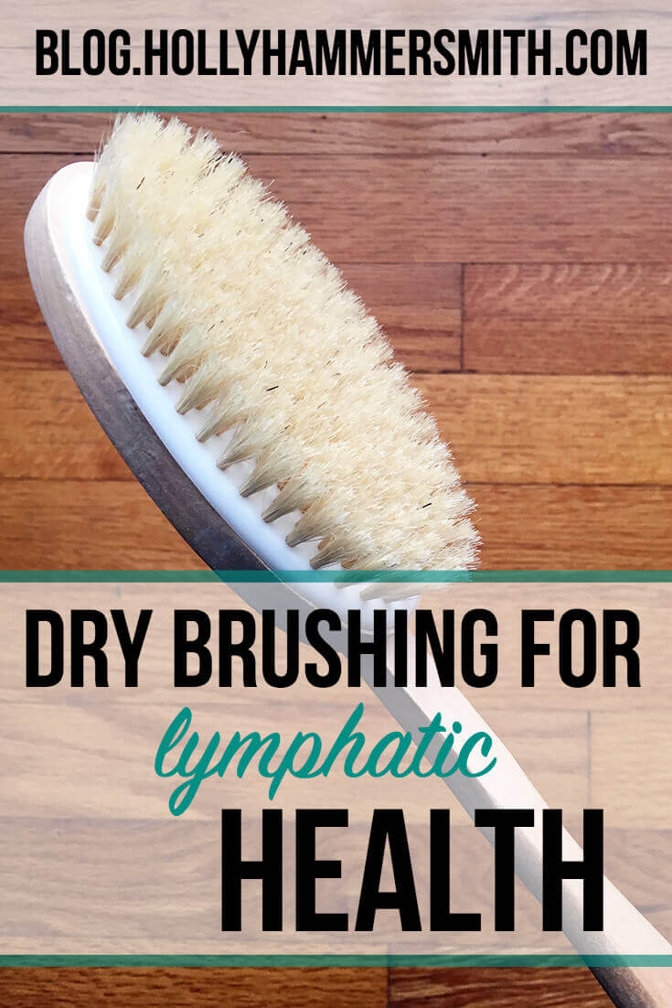 Dry Brushing for Lymphatic Health