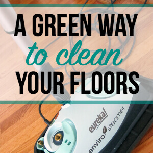 Green Way to Clean Your Floors
