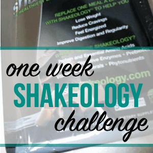 A Seven-Day Shakeology Challenge