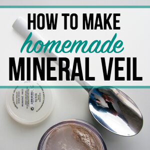 How to Make Homemade Mineral Veil Face Powder - Welcoming Simplicity