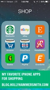 My Favorite iPhone Apps for Shopping