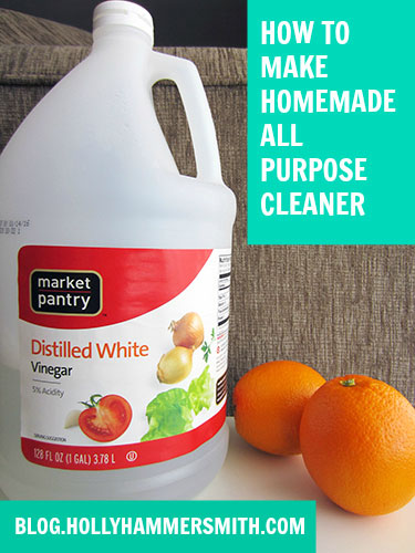 How to Make Homemade All Purpose Cleaner