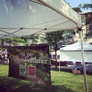 Master Gardener Booth