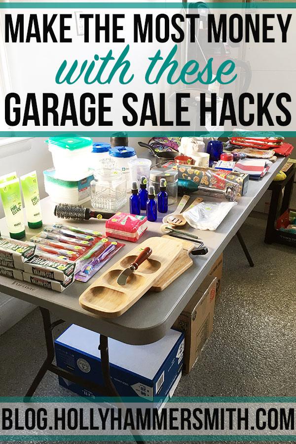 Garage Sale Hacks