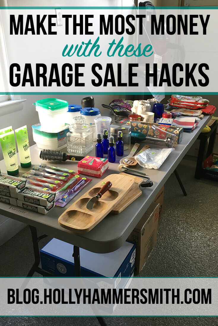 Garage Sale Hacks to Make the Most Money | Welcoming Simplicity
