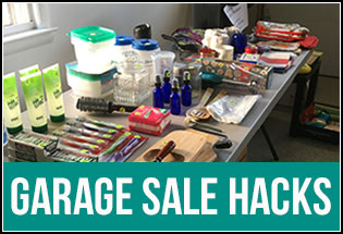 Garage Sale Hacks